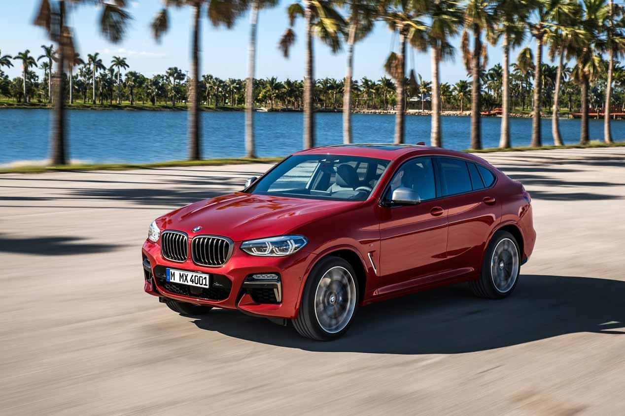 BMW X4 2018: las imágenes del nuevo SUV