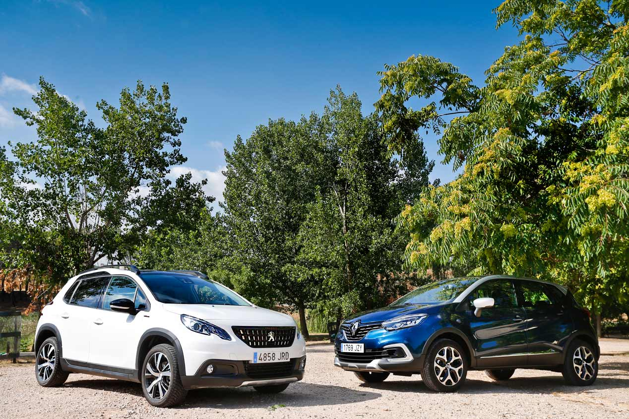 Peugeot 2008 vs Renault Captur