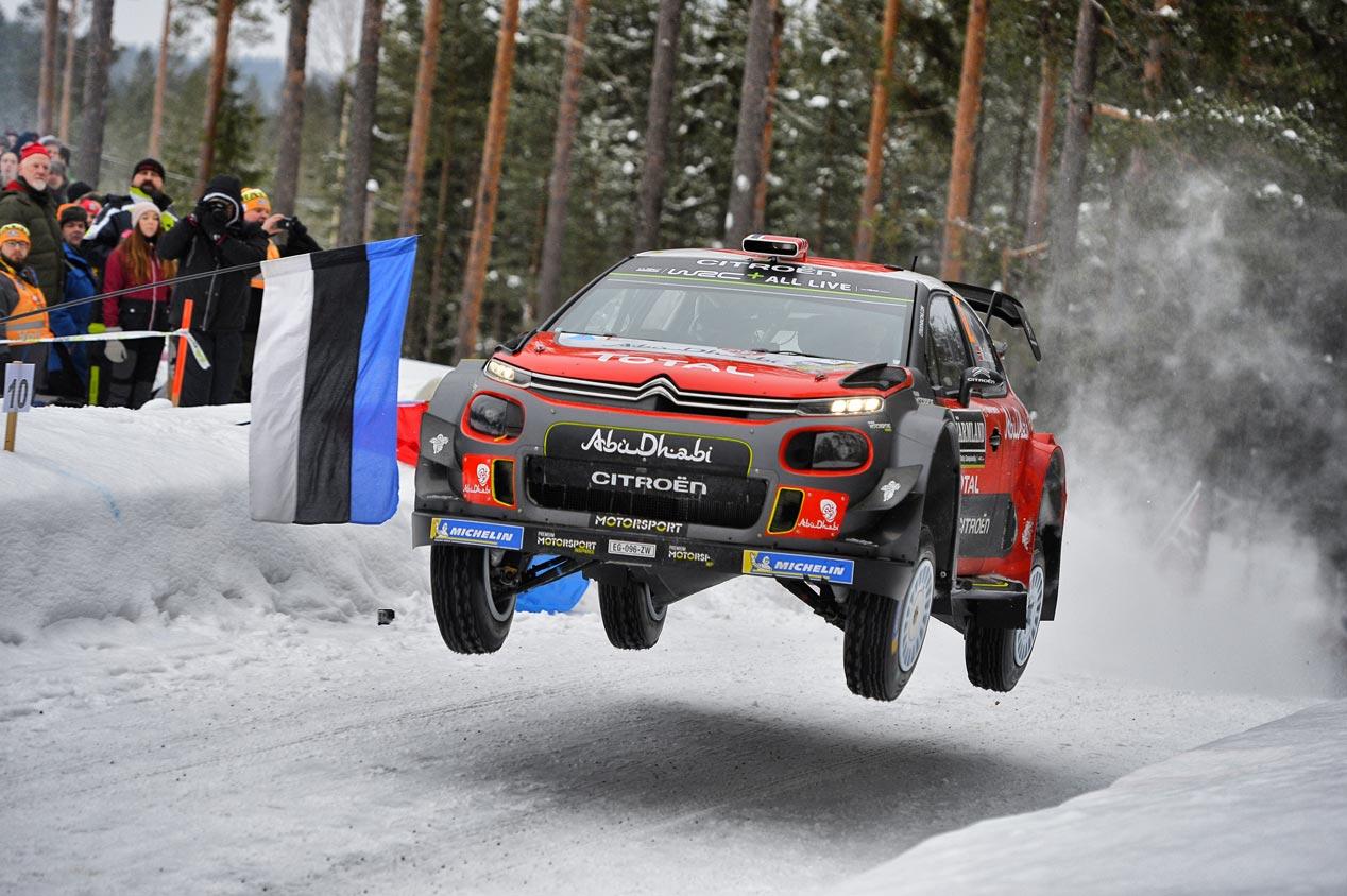 Las mejores fotos del Rally de Suecia 2018