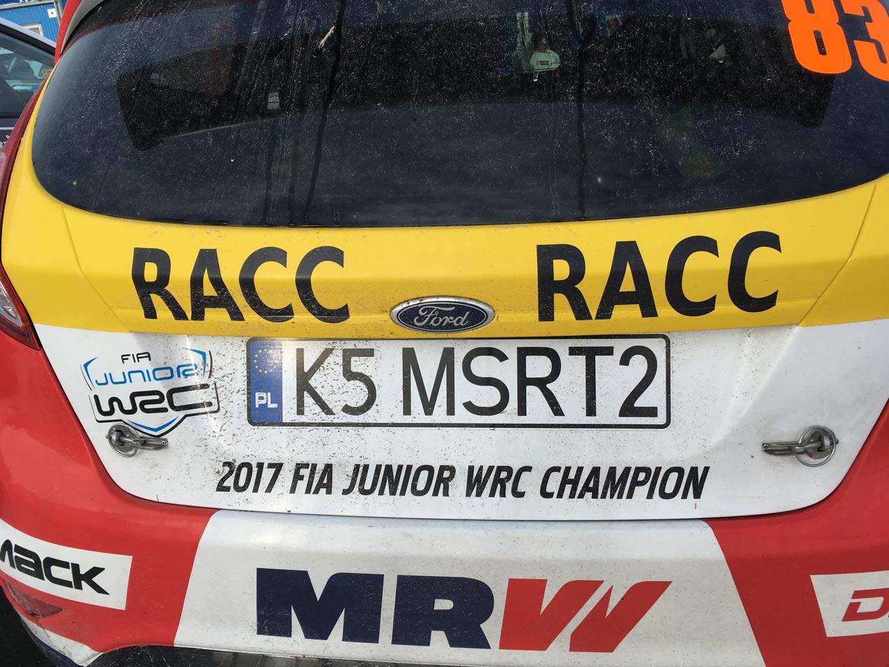 Nil Solans debuta en el Rally de Suecia con su nuevo Ford Fiesta R5