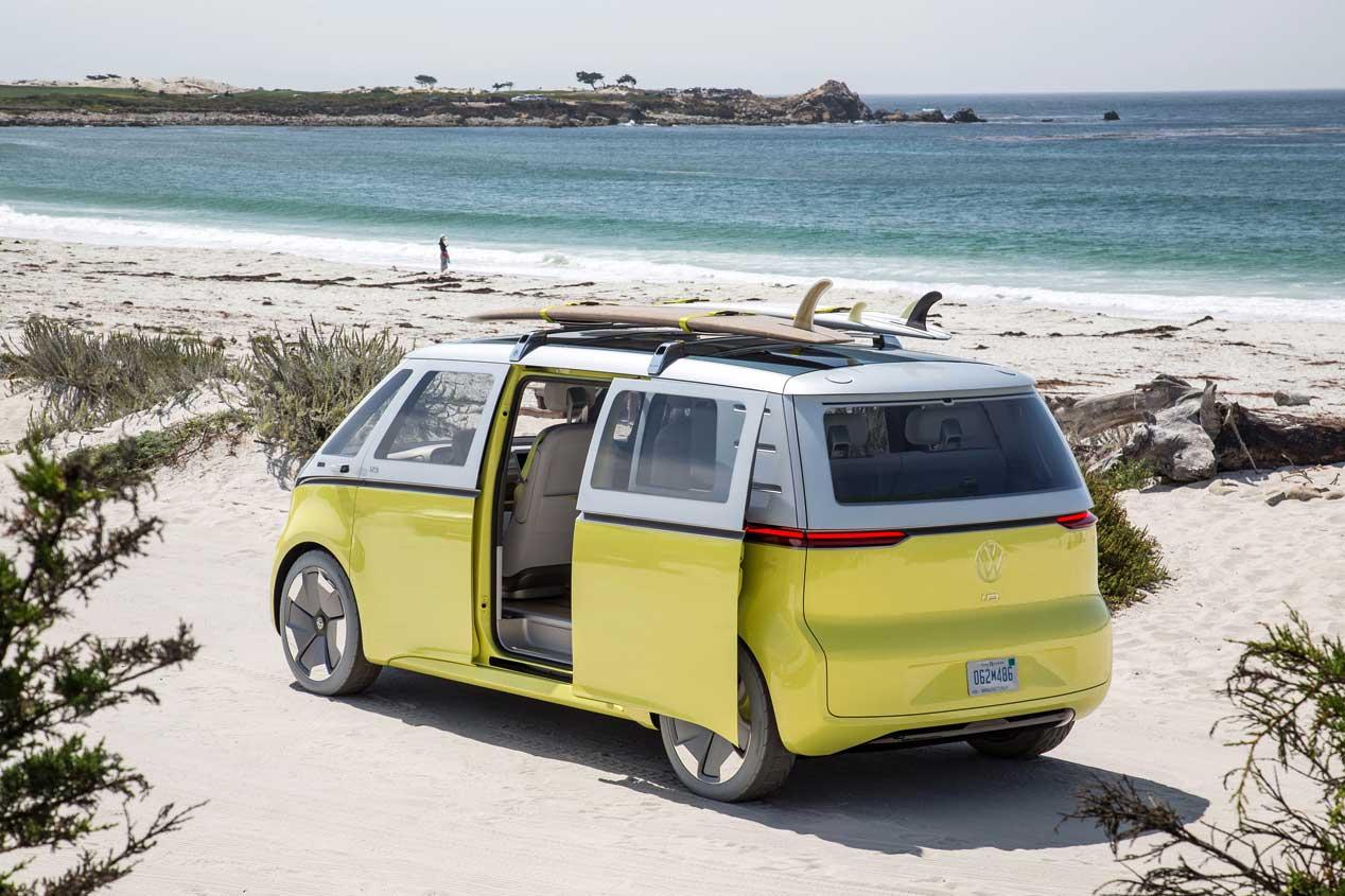 Volkswagen añadirá el I.D. Vizzion a su nueva familia en Ginebra
