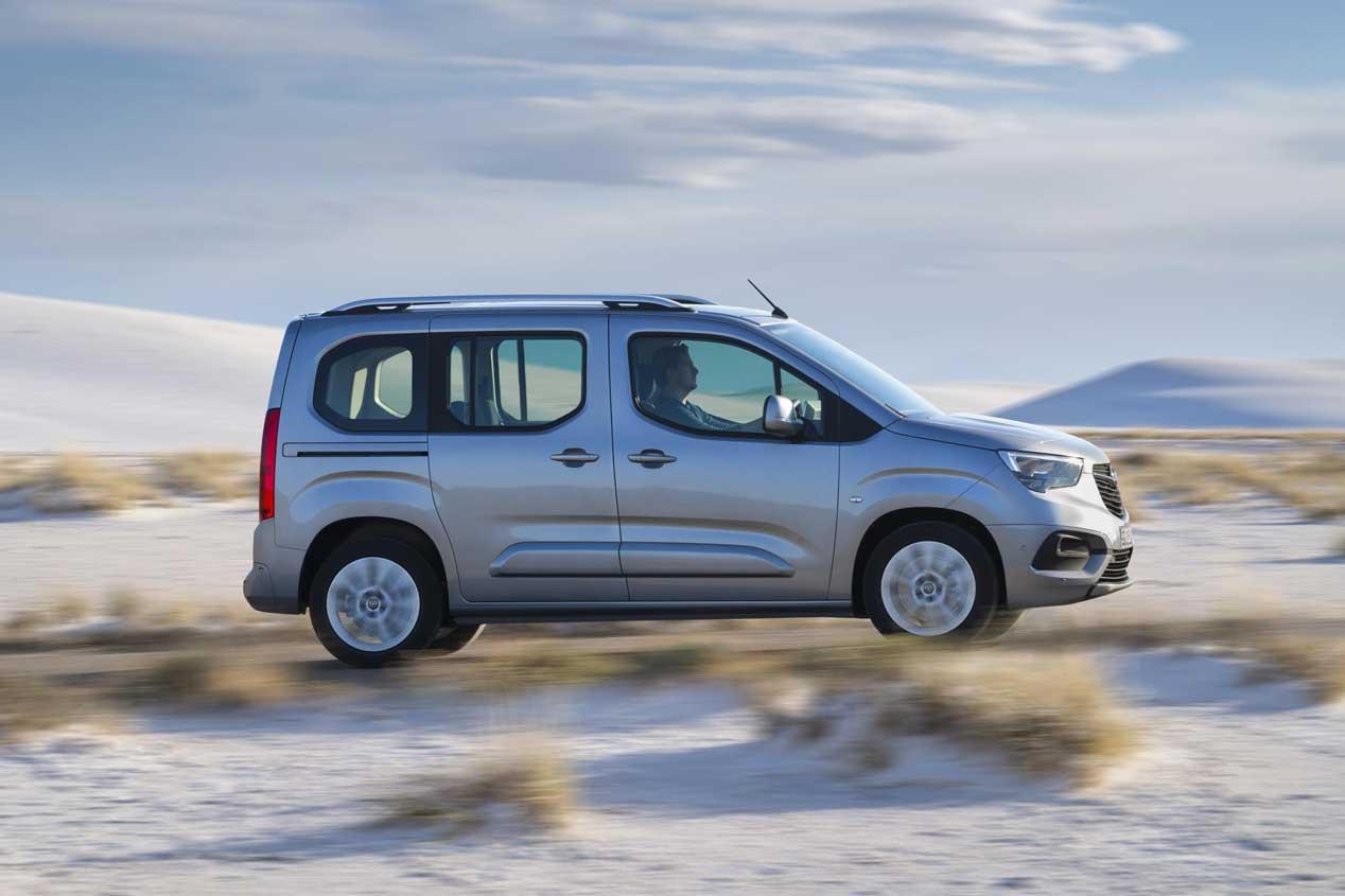 Opel Combo Life, imagen renovada para una furgoneta familiar