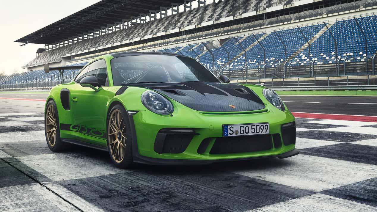 Porsche 911 GT3 RS, puesto al día con 520 CV