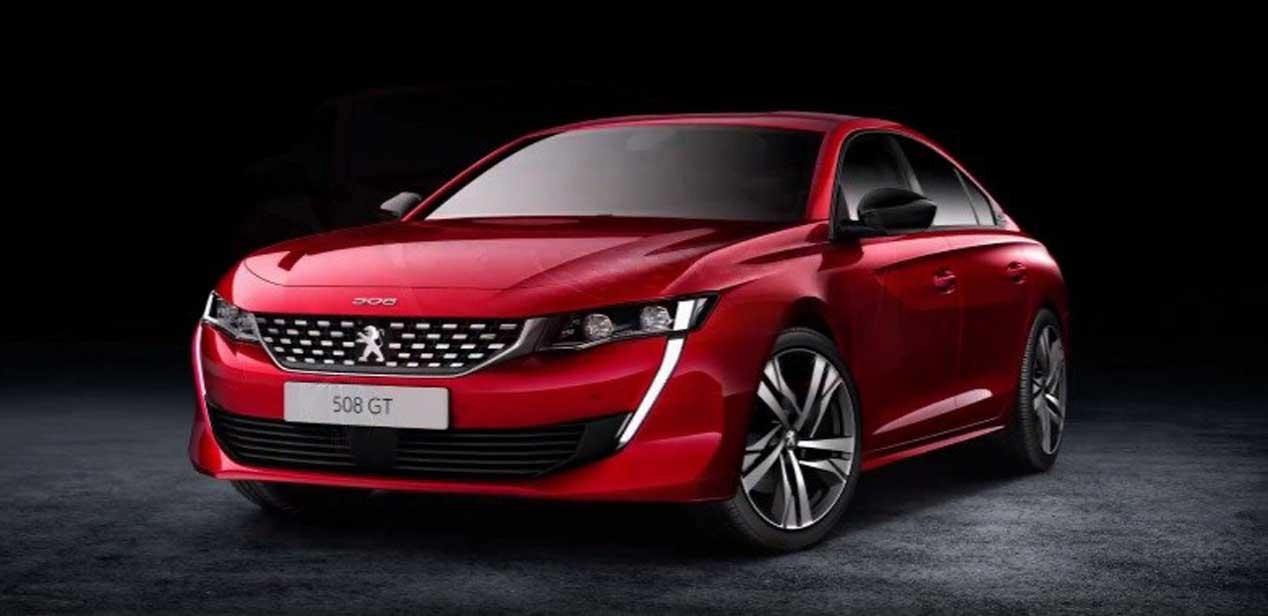 Peugeot 508, filtradas las primeras imágenes oficiales