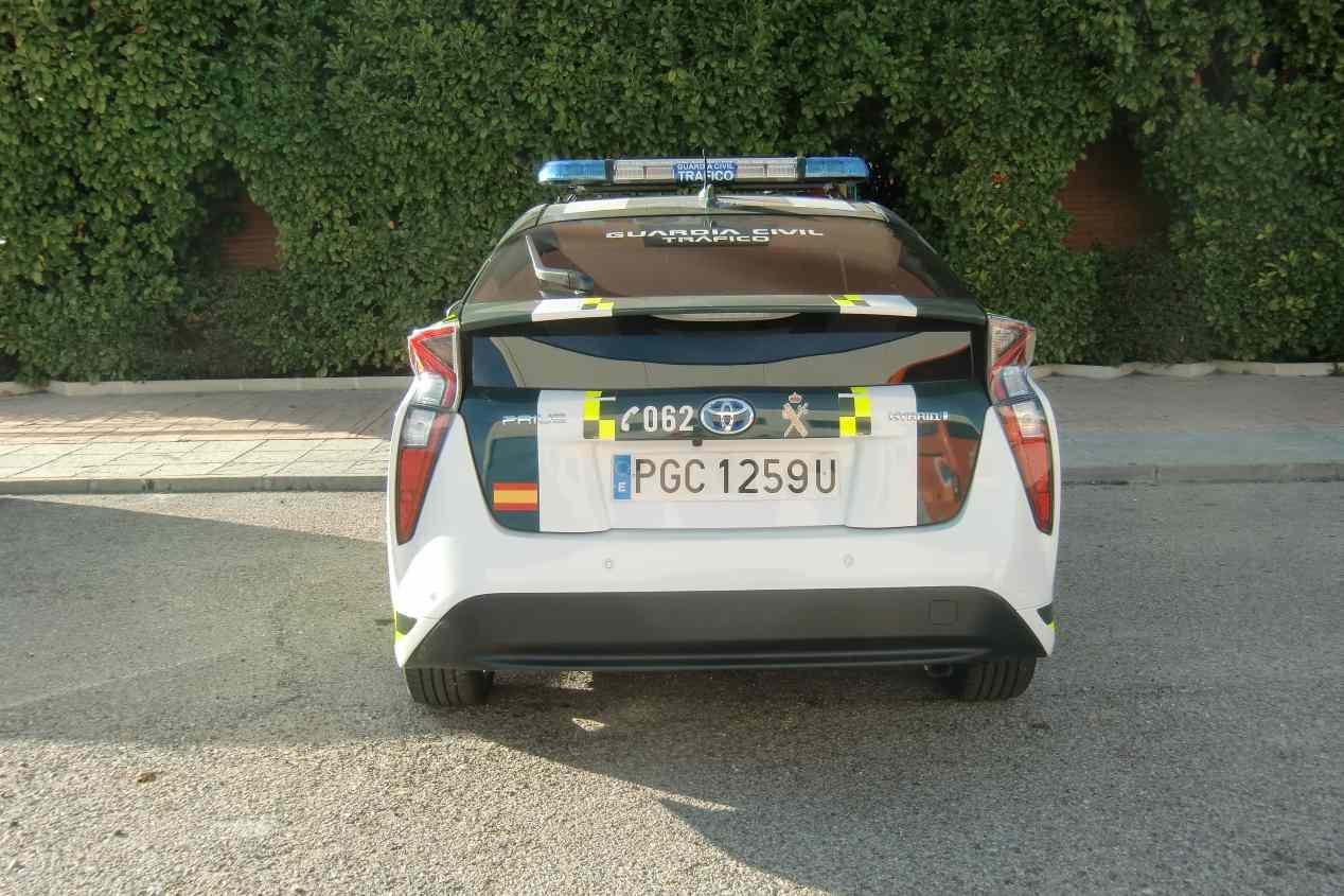 Los nuevos coches de la Guardia Civil: Toyota Prius