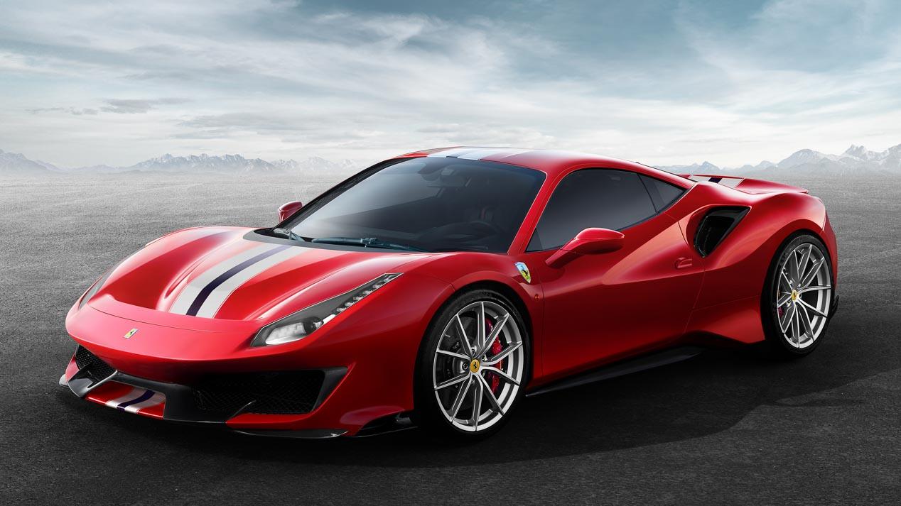 Ferrari 488 Pista, concebido para la competición