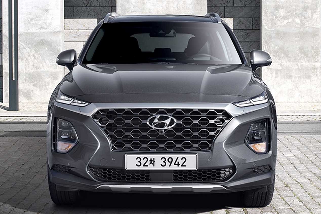 Hyundai Santa Fe 2018: todas sus fotos oficiales