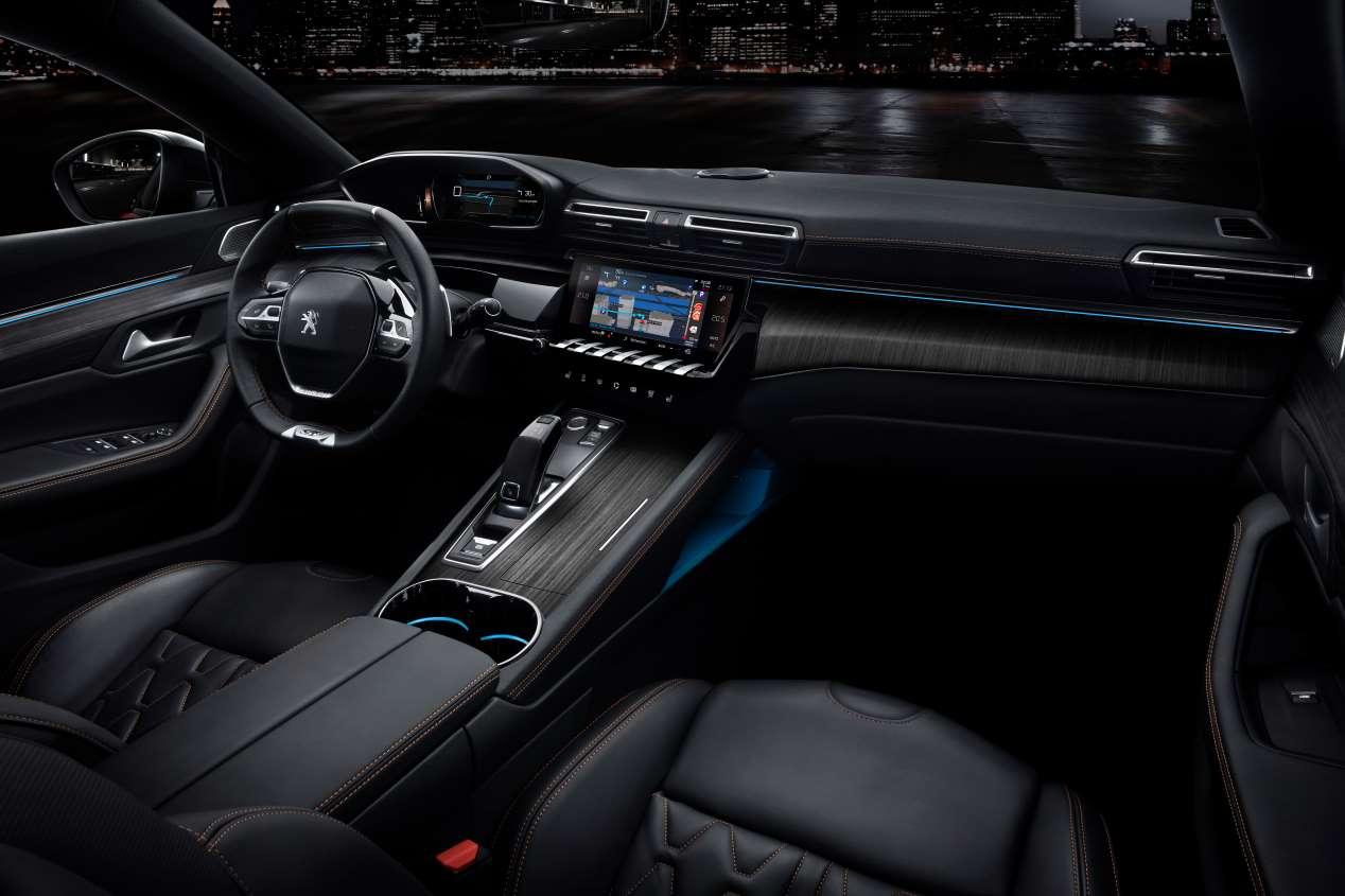 Peugeot 508: todas las fotos oficiales de la nueva berlina