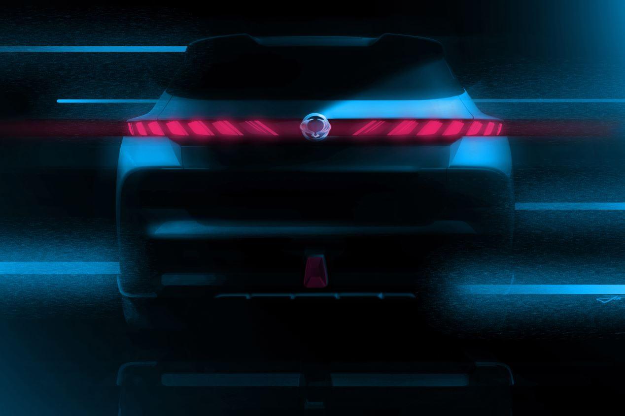 SsangYong e-SIV: un concepto de SUV eléctrico con 450 km de autonomía