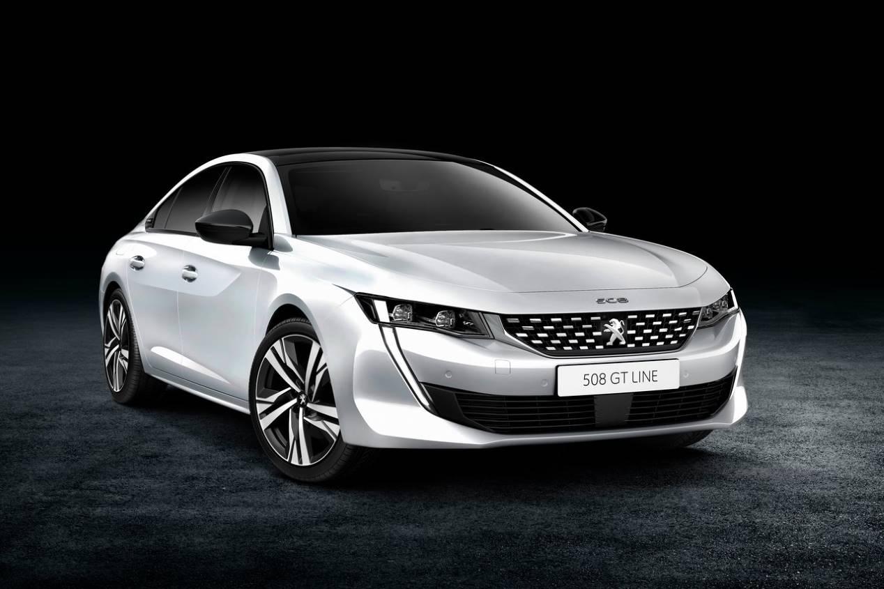 Peugeot 508: fotos y primer video de la nueva berlina