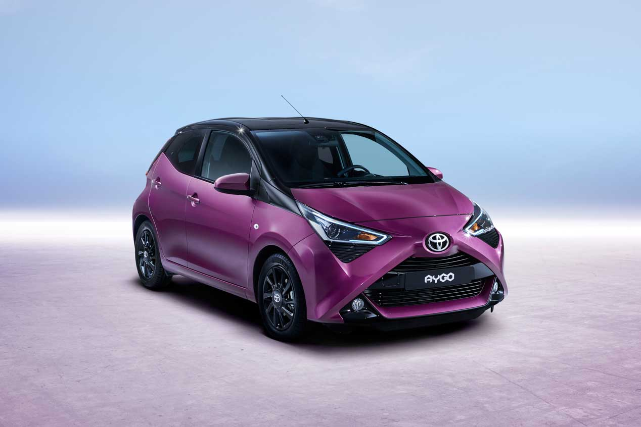 Toyota renueva el Aygo de cara a Ginebra