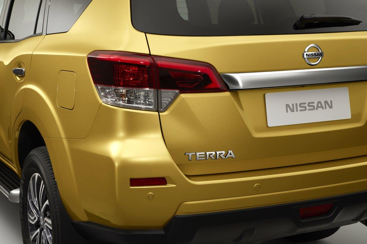 Nissan Terra: primeras fotos oficiales del SUV
