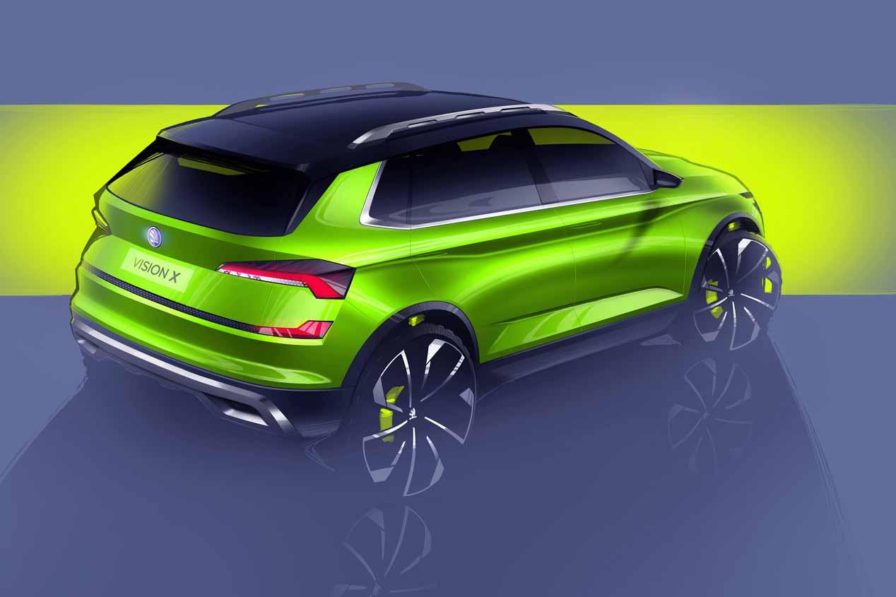 Skoda Vision X: el SUV concepto del Salón de Ginebra 2018