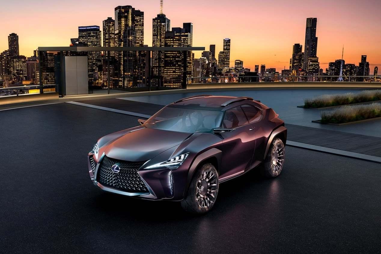 Lexus UX: primeras imágenes del nuevo SUV pequeño de lujo