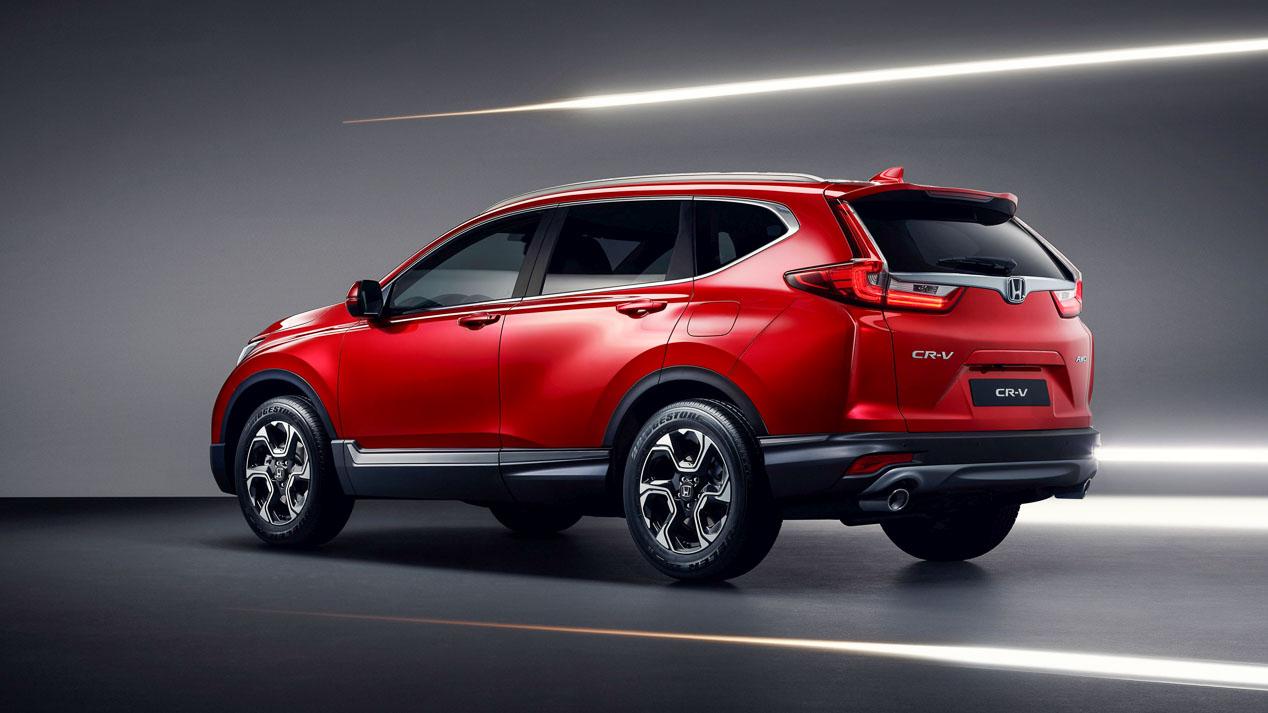 Honda CR-V 2018, nueva generación del SUV nipón