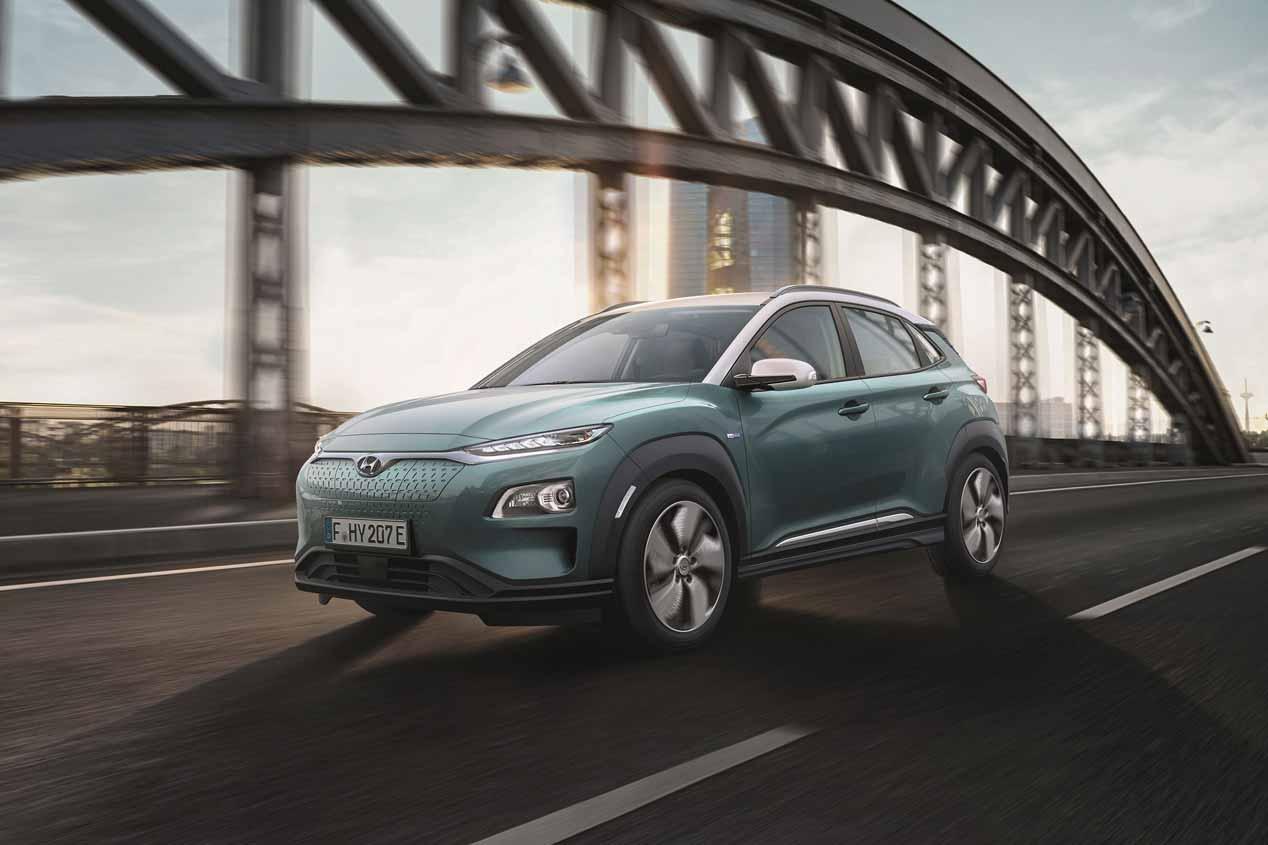 El SUV Hyundai Kona eléctrico, en imágenes