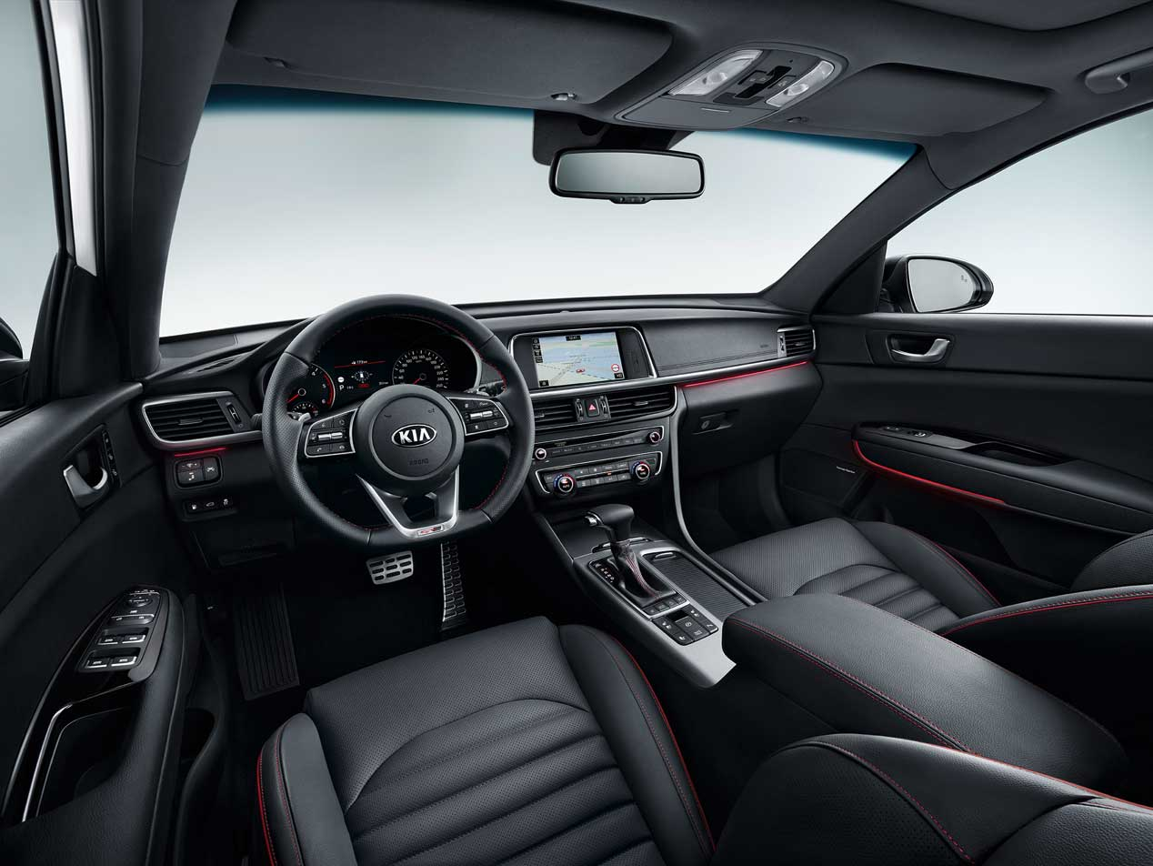 Kia Optima 2018 interior