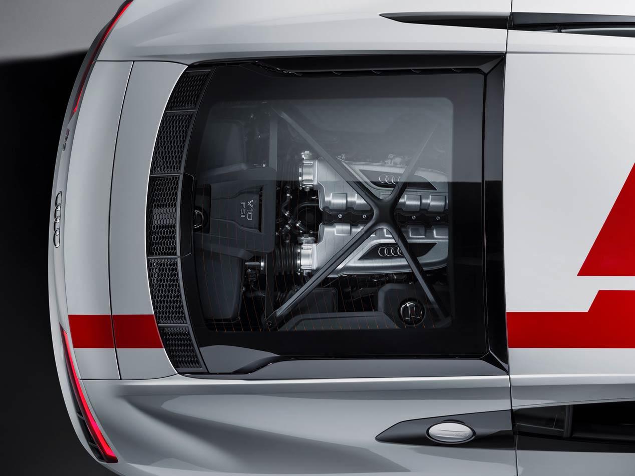 Audi R8 V10 RWS, el primer Audi de propulsión trasera