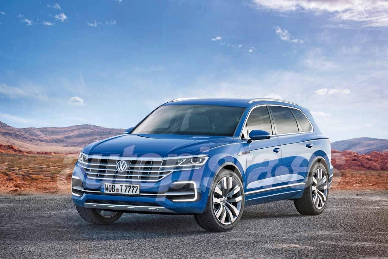 Probamos el nuevo VW Touareg 2018