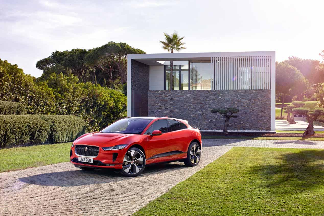 Jaguar i-Pace: las fotos definitivas del SUV eléctrico