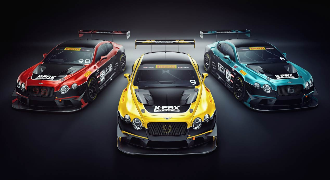 Bentley Continental GT3 para las Pirelli World Challenge