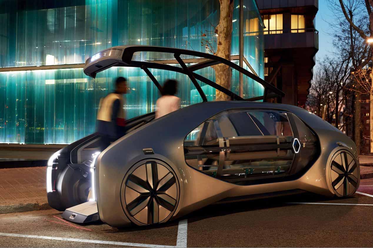 Renault EZ-GO: las fotos del coche compartido del futuro