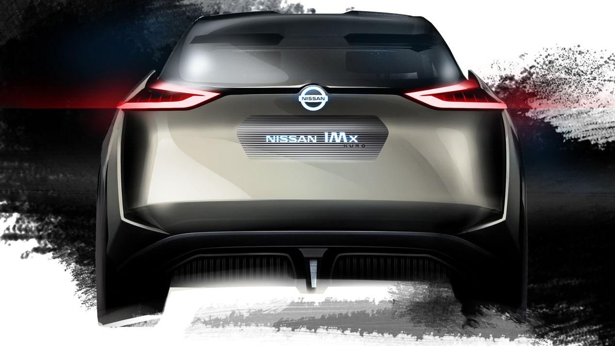 Nissan IMx KURO, nuevas imágenes del futuro crossover eléctrico