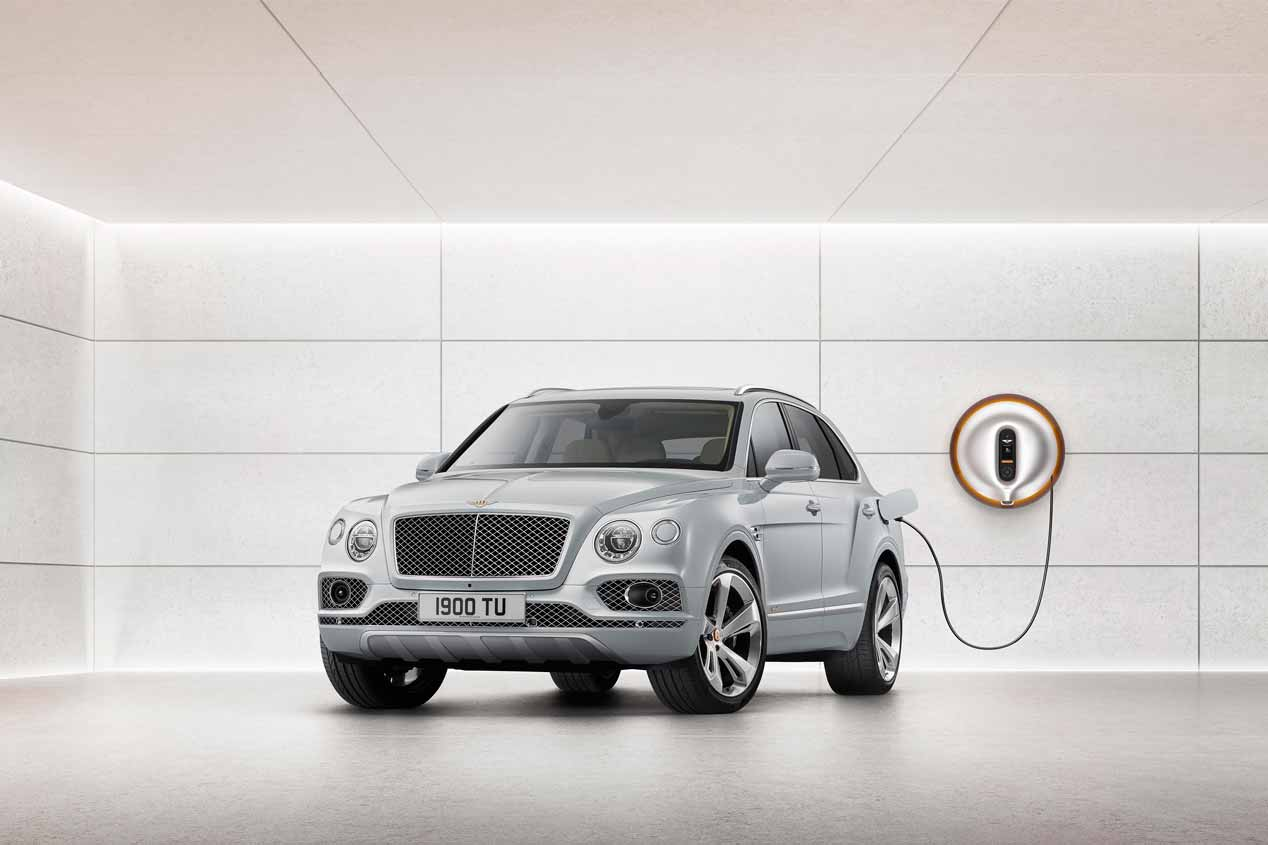 El Bentley Bentayga Hybrid, en fotos