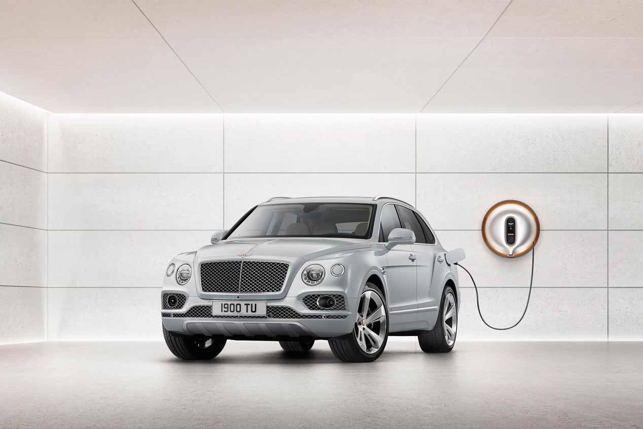 El Bentley Bentayga Hybrid, en fotos