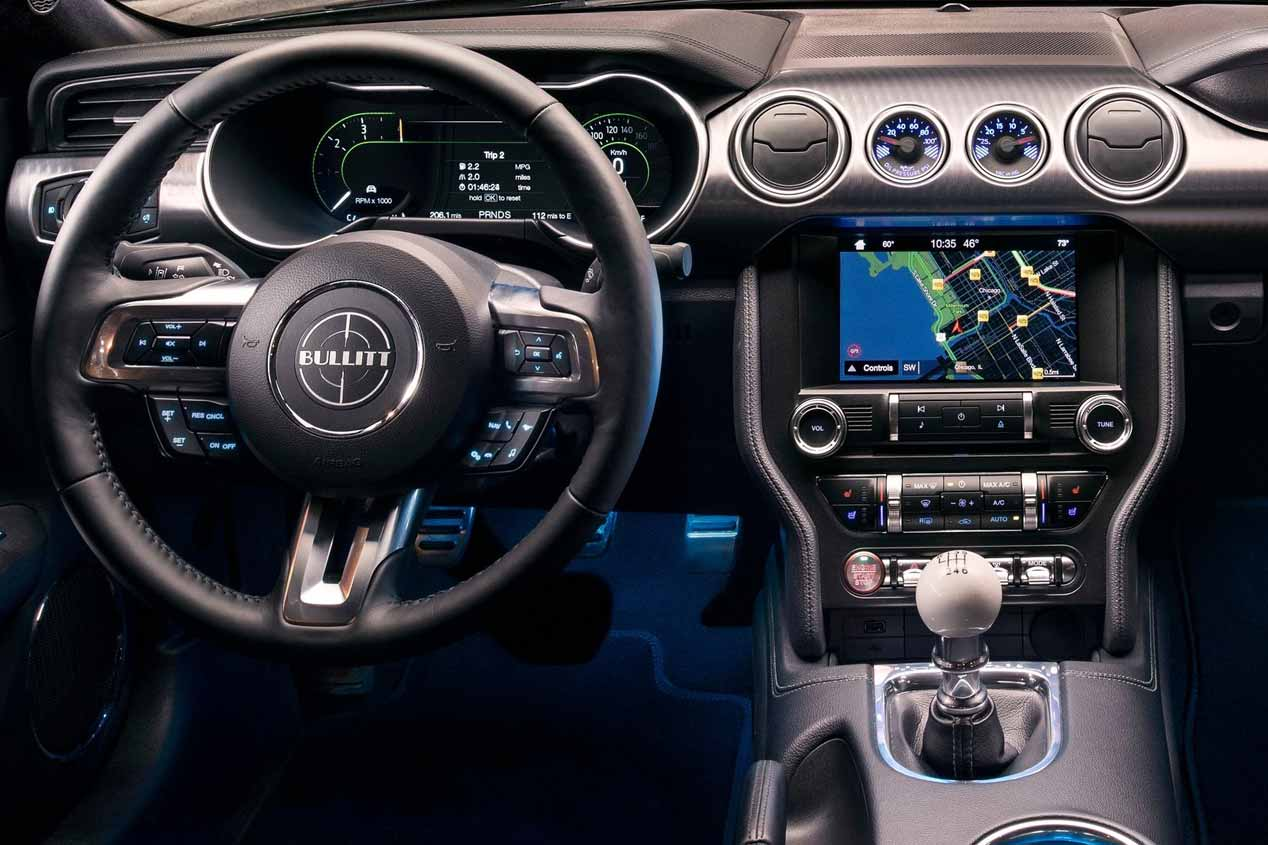 Ford Mustang Bullit 2018: estrella deportiva en Ginebra