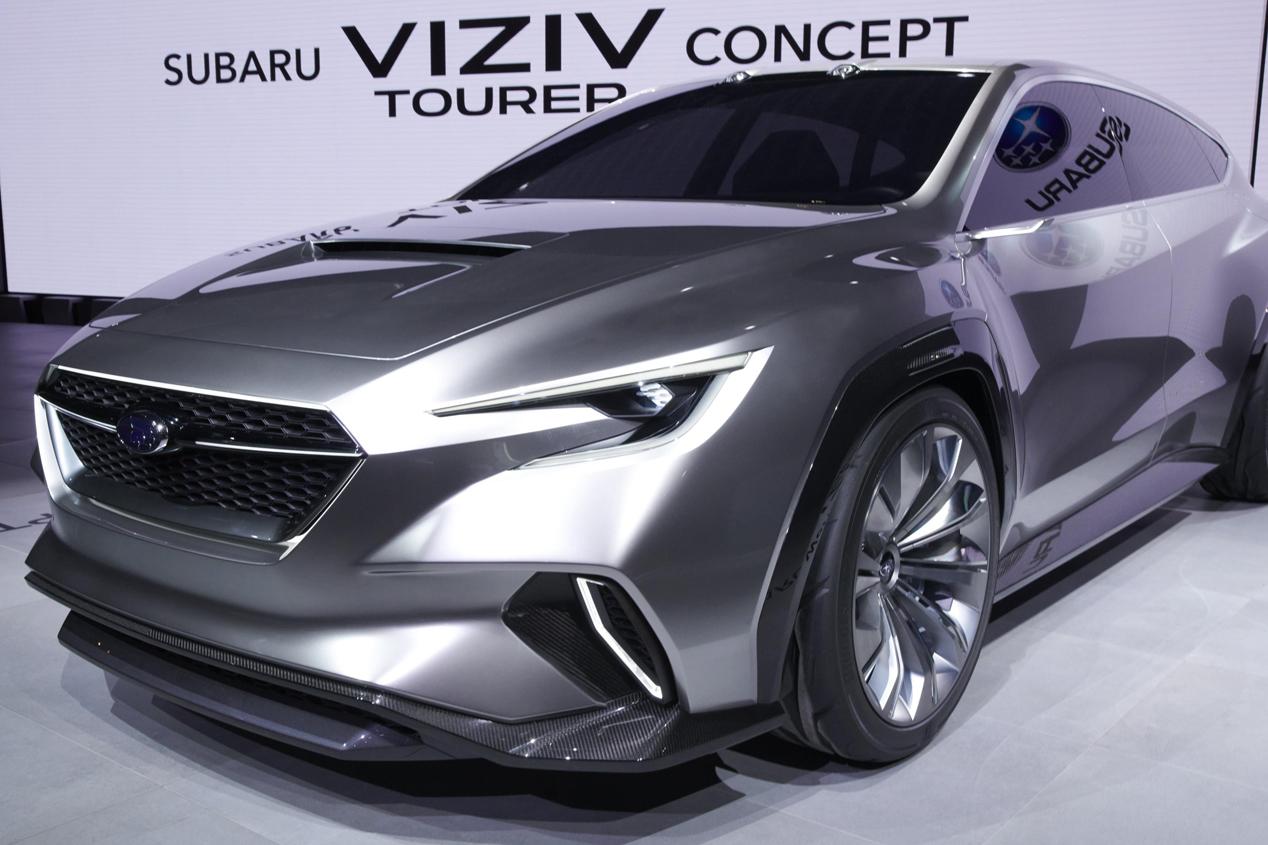 Subaru Concept Viziv Tourer: sus mejores fotos en el Salón de Ginebra