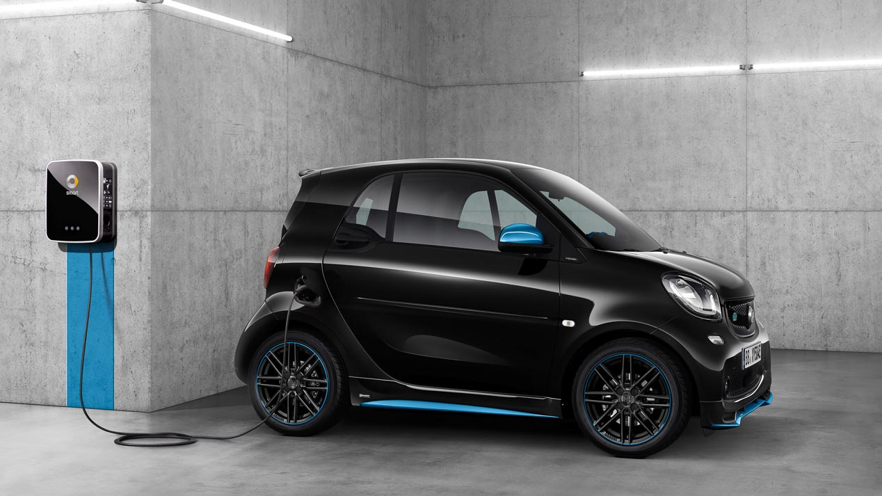 Smart EQ fortwo y forfour nightsky edition: arranca la era EQ