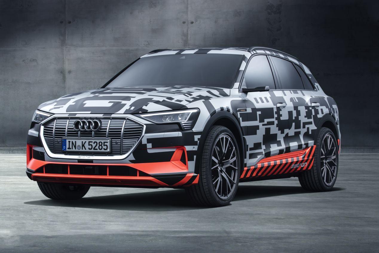 Audi e-tron Prototype: fotos del primer coche eléctrico de Audi