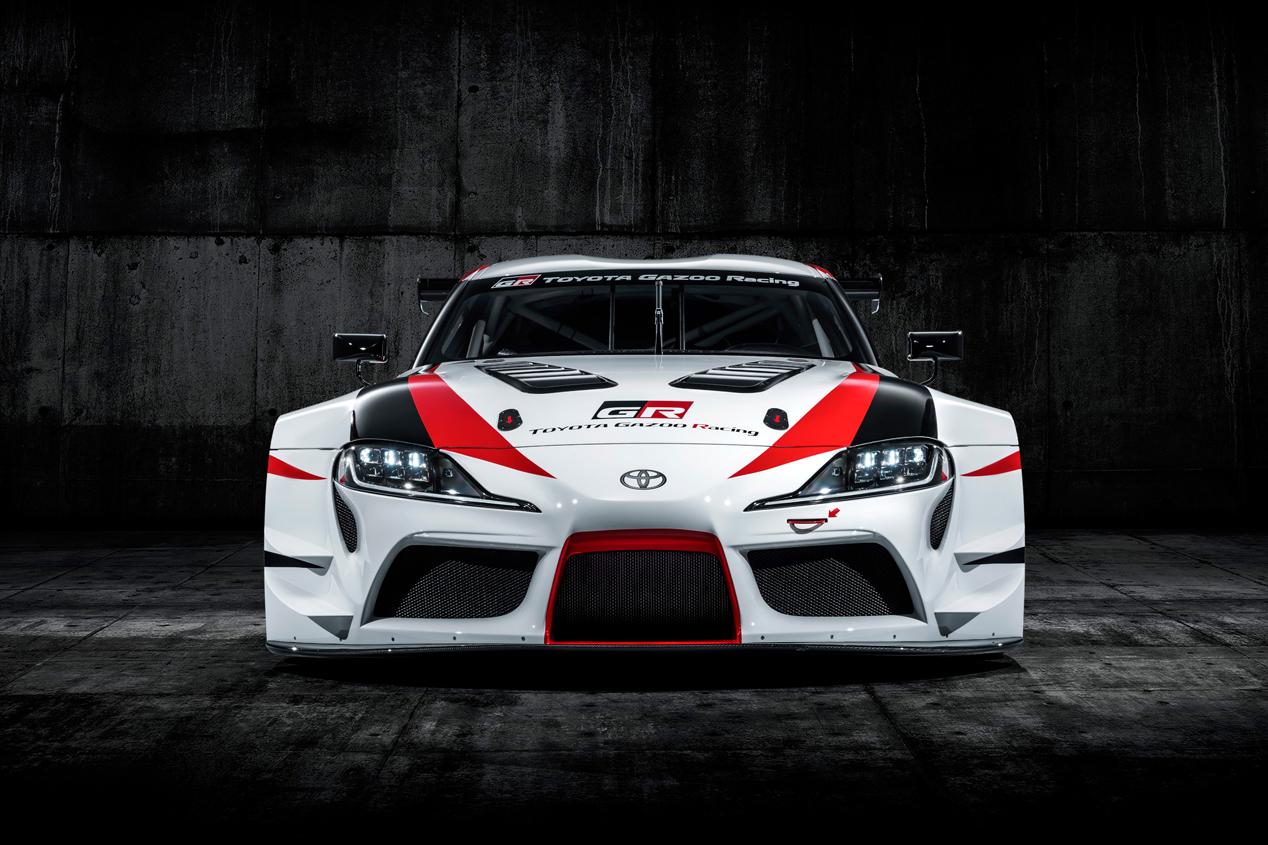 El Toyota GR Supra Racing, en imágenes