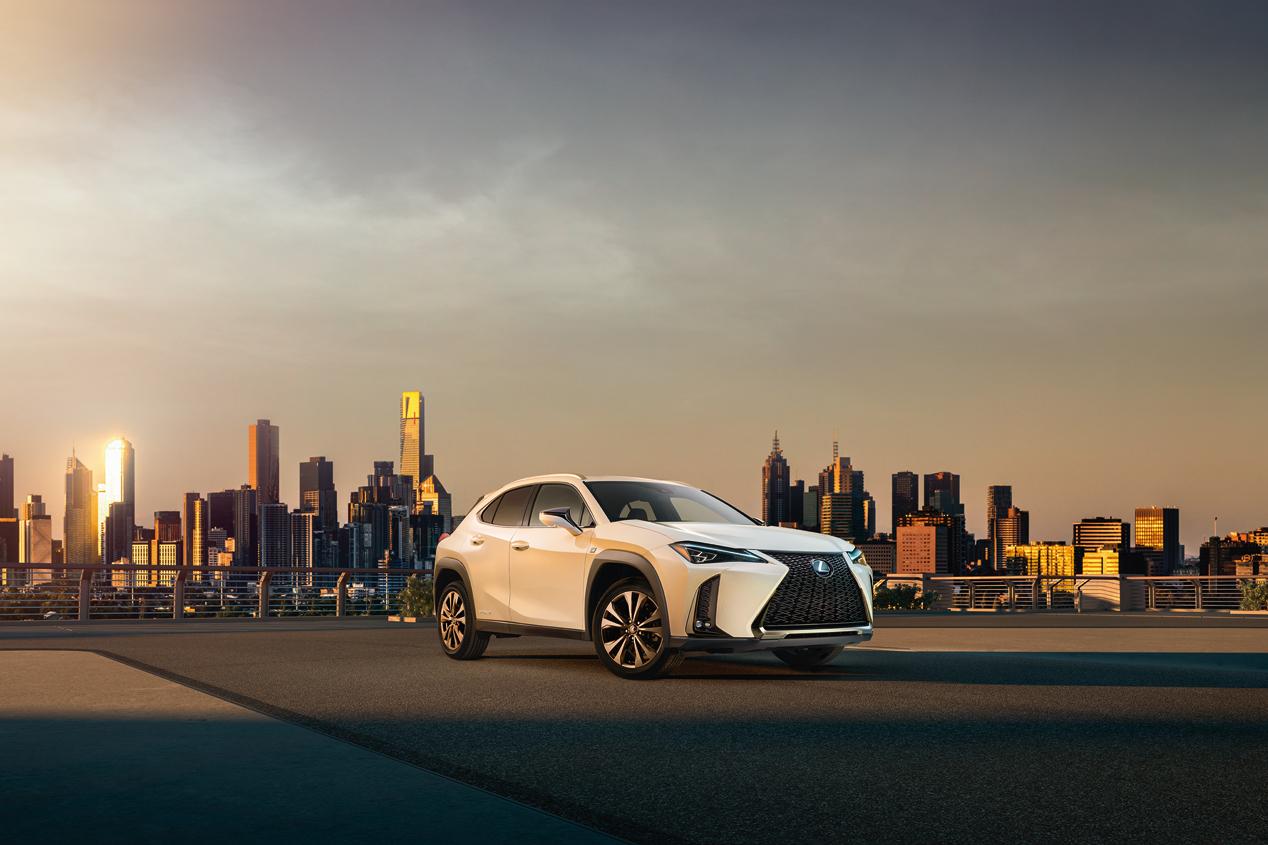 El Lexus UX, de estreno en Ginebra: imágenes oficiales