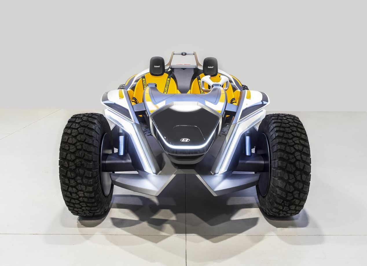 Hyundai Kite Concept: las mejores imágenes del buggy eléctrico