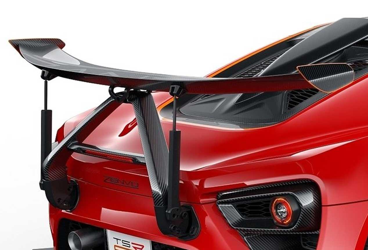 Zenvo STR-S, competición para la calle