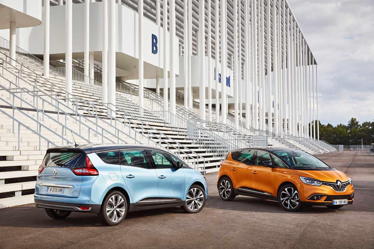 Nuevo motor de gasolina para los Renault Scénic y Grand Scénic