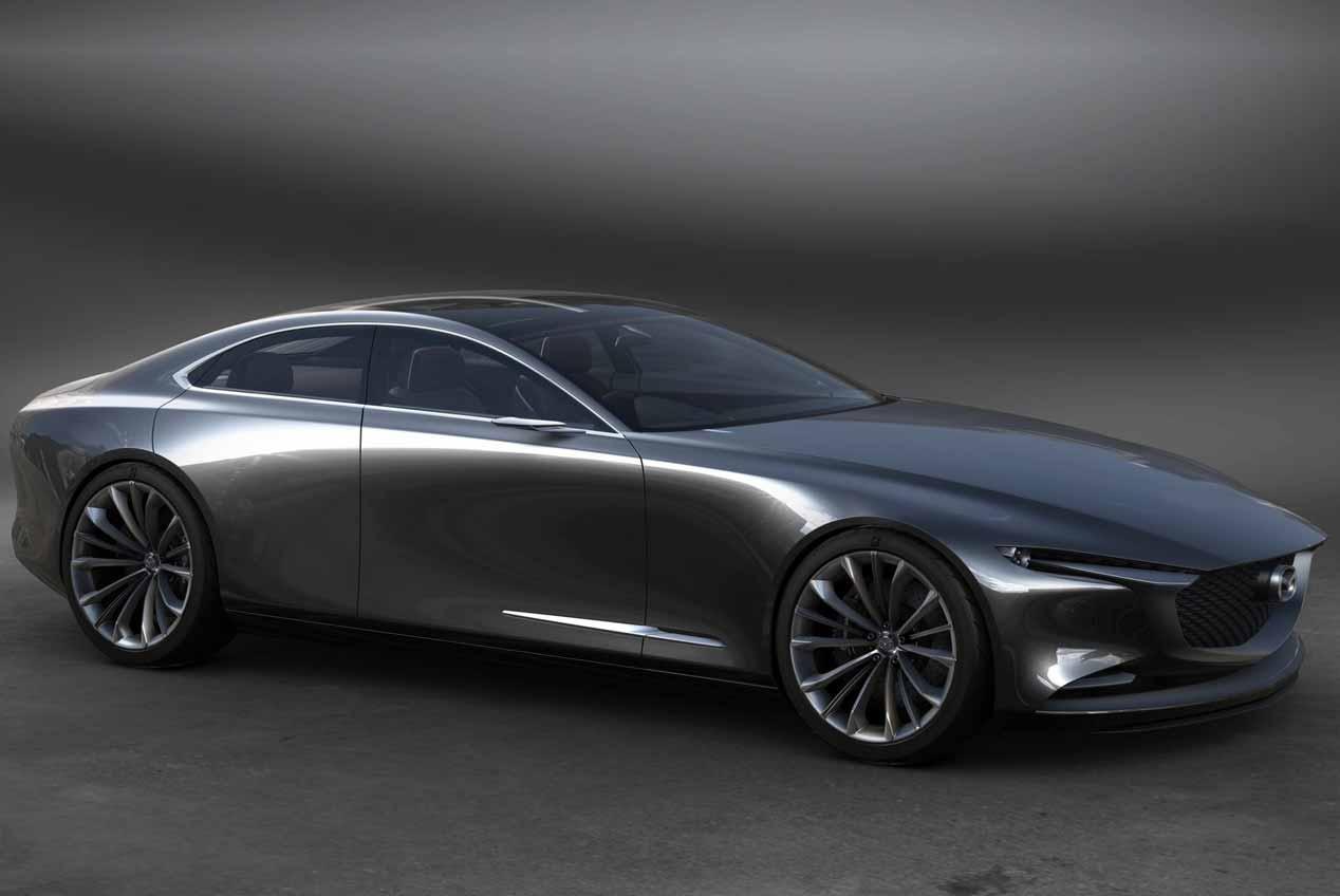 Mazda Vision Coupé: puro espectáculo visual