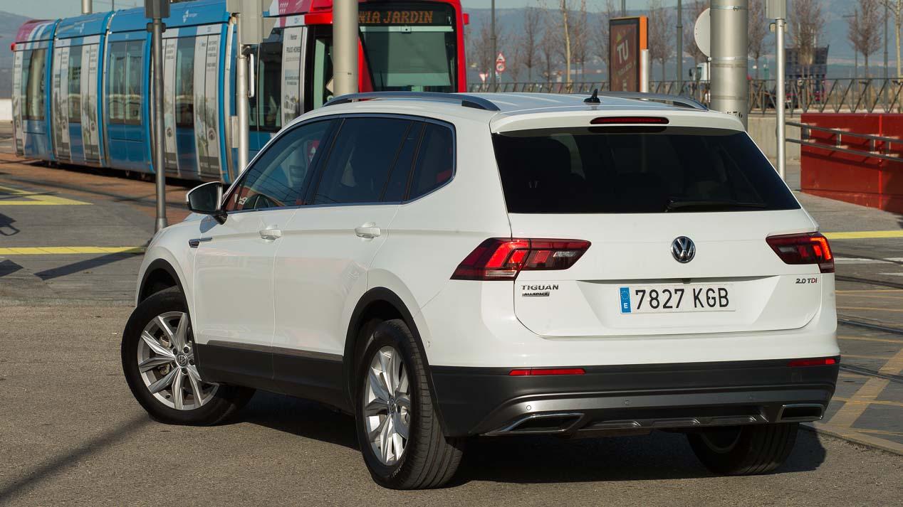 VW Tiguan Allspace 2.0 TDI: todas las fotos de la prueba