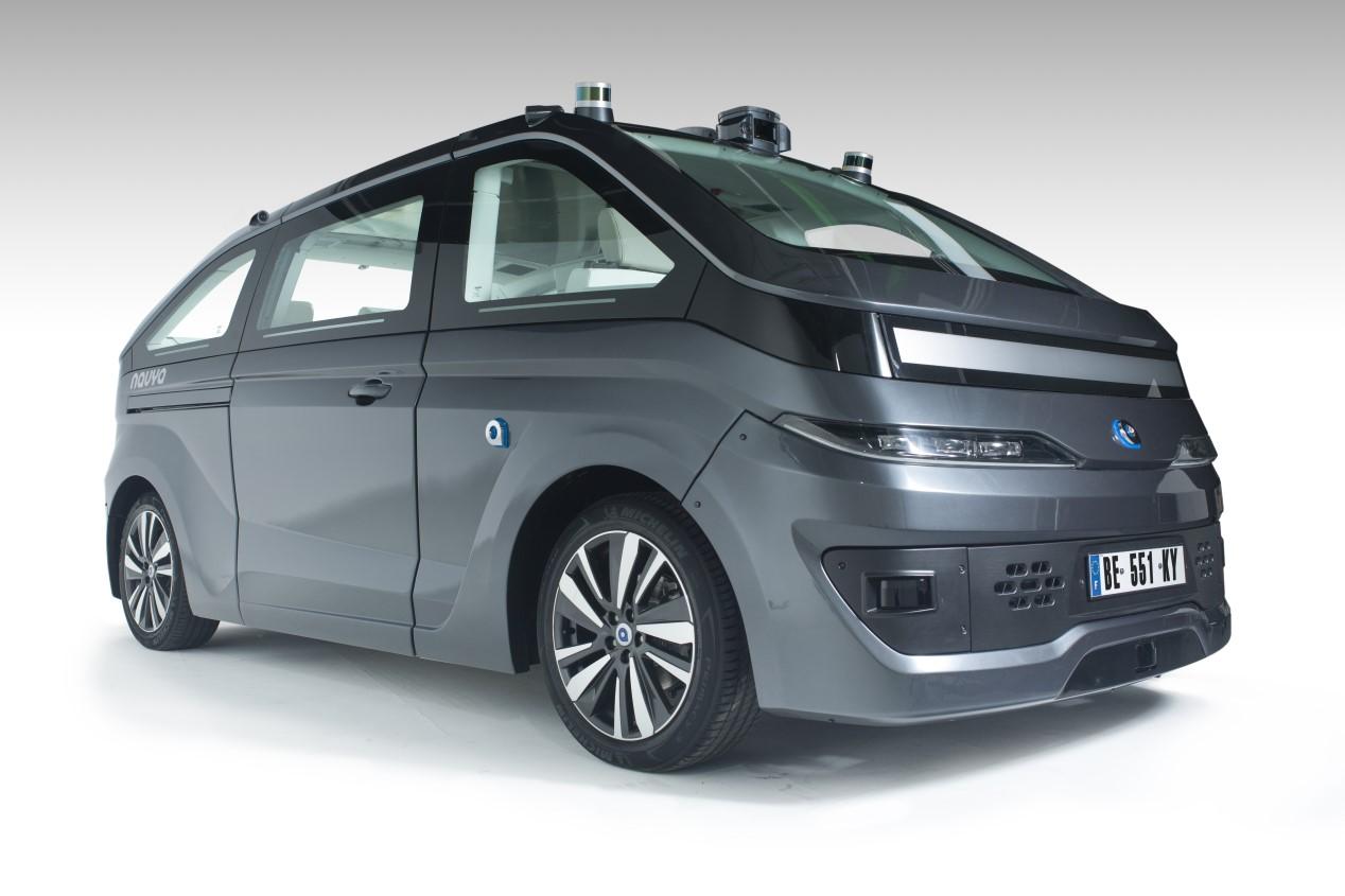 Navya Autonom Cab: el primer coche eléctrico y autónomo a la venta