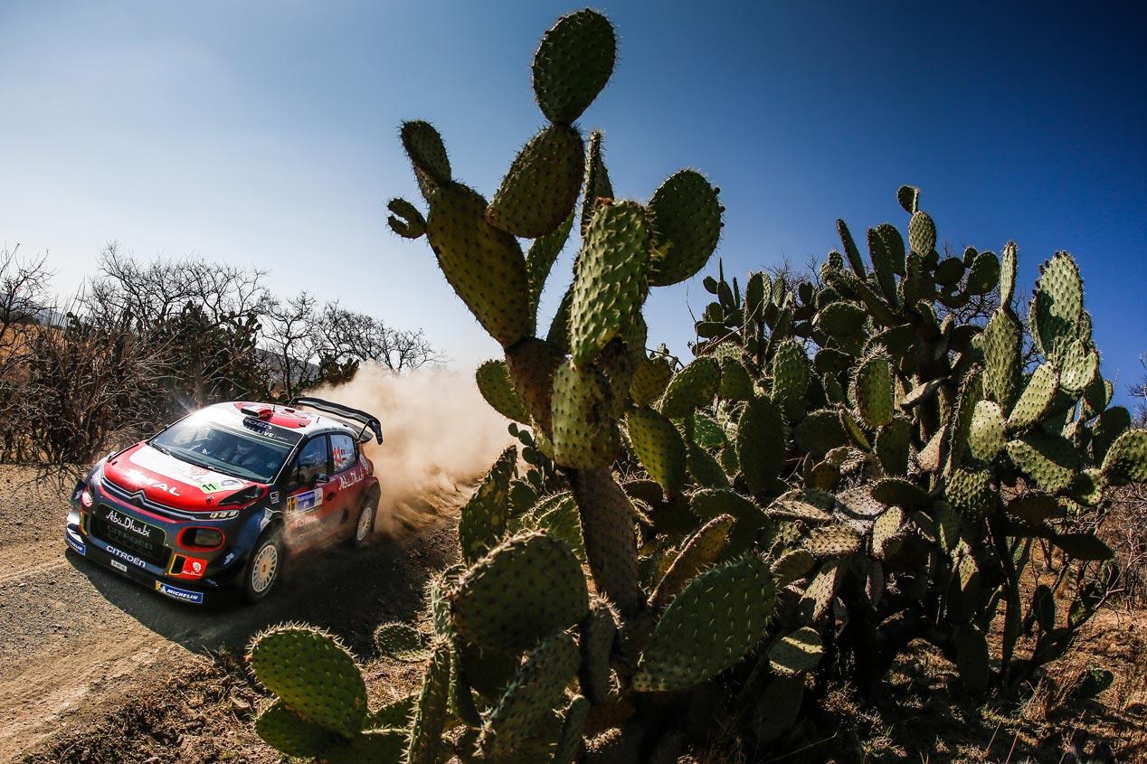 Las mejores fotos del Rally de México 2018