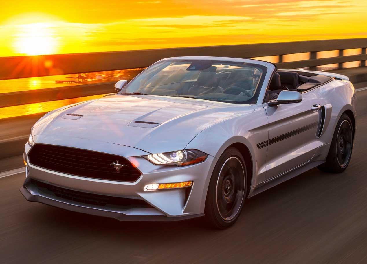 Ford Mustang GT California, espíritu sesentero