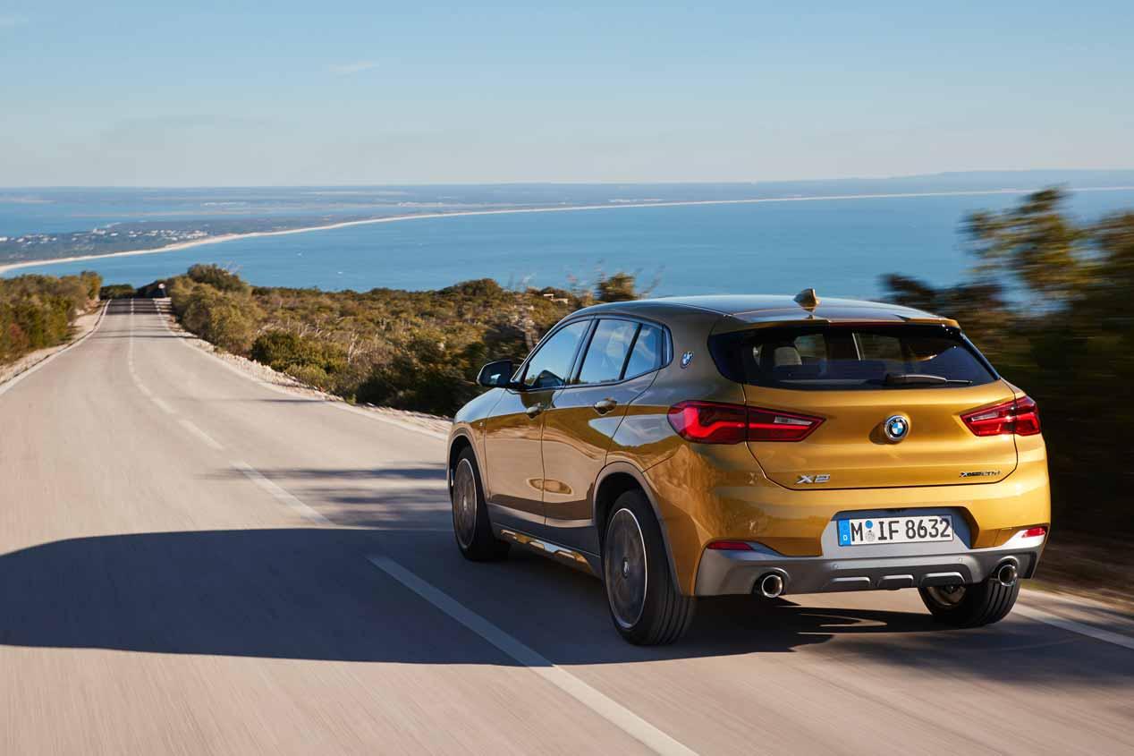A prueba el BMW X2 Diesel de 190 CV