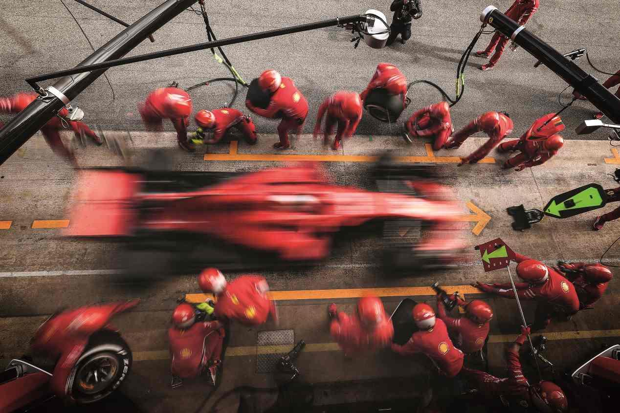 Los coches de la F1 de 2018