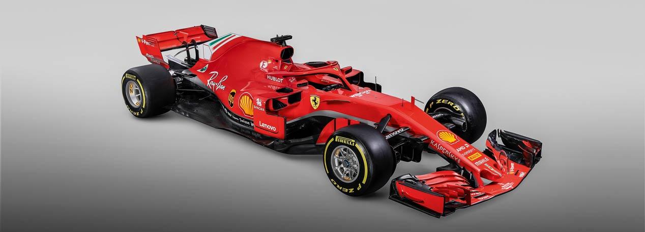 Los monoplazas del Mundial de Fórmula 1 2018