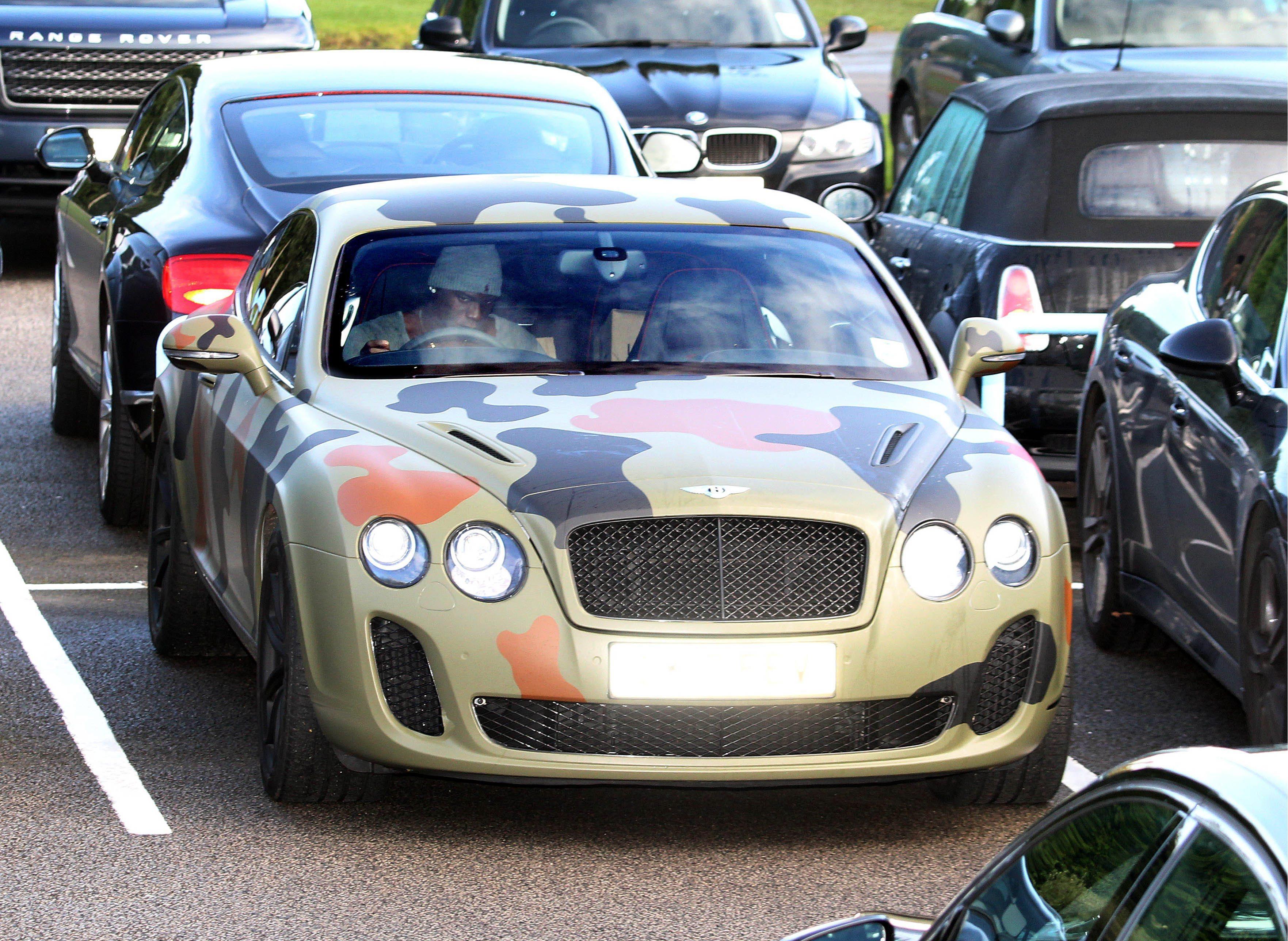 Los coches más raros de los futbolistas