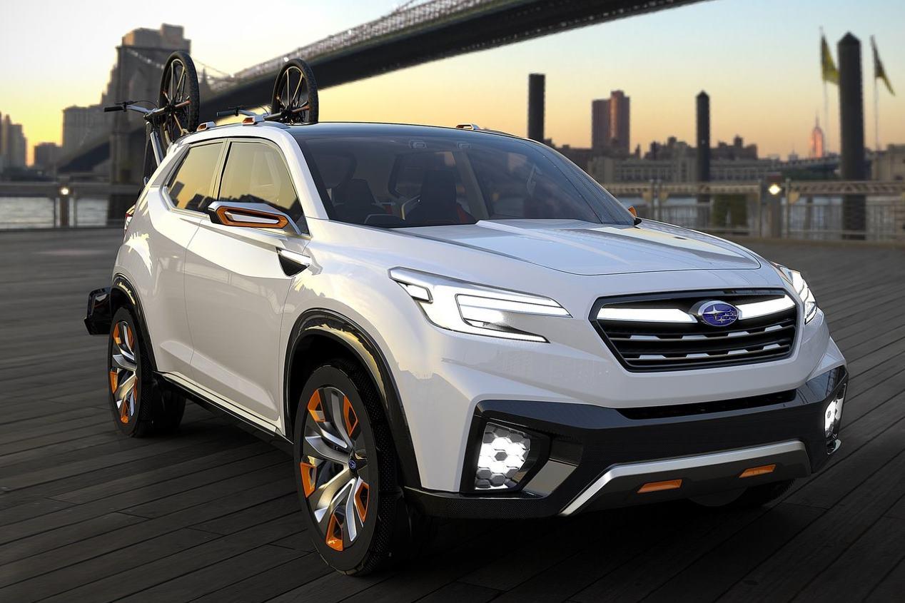 Subaru Forester 2019: el nuevo SUV tomará rasgos del VIZIV Future Concept