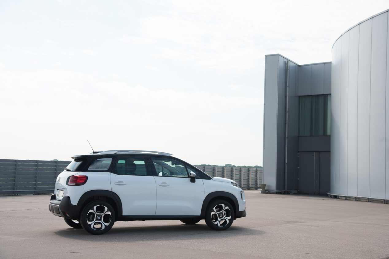 Modular y muy versátil, así es el Citroën C3 Aircross