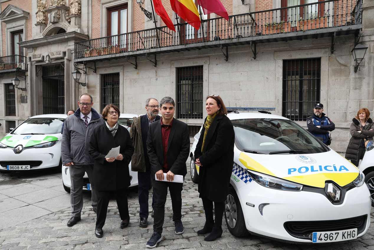 Los nuevos vehículos eléctricos del Ayuntamiento de Madrid